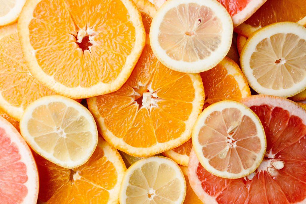 ビタミンカラーの象徴オレンジ